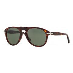 Óculos de sol Persol 649 Tartaruga Lente Verde Original Comprar online