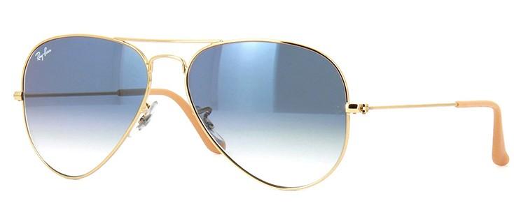 e227f32682be6 Ray Ban Aviador 3025 001 3F - Óculos de Sol - Tamanho 58
