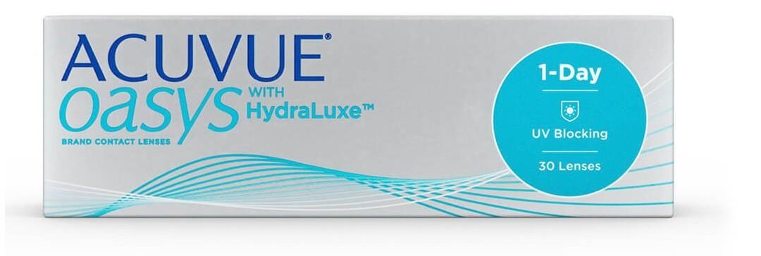 ACUVUE OASYS 1-Day com HydraLuxe - Lentes de Contato