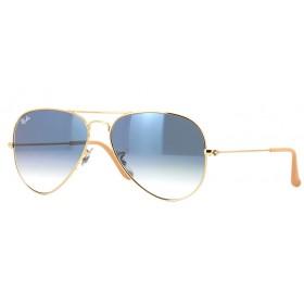 Ray Ban Aviador 3025 001/3F - Óculos de Sol - Tamanho 58