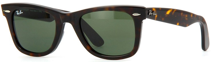 ebcc2226b Ray Ban Wayfarer 2140 902 - Óculos de Sol - Tamanho 50