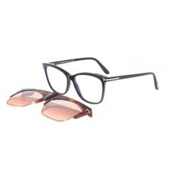 Tom Ford BLUE BLOCK  5690B  001 CLIP - Oculos de Sol