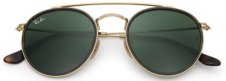 Ray Ban Double Bridge 3647N 001 - Óculos de Sol