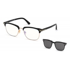 Tom Ford 5683B 001 Blue Look - Oculos e Clip On