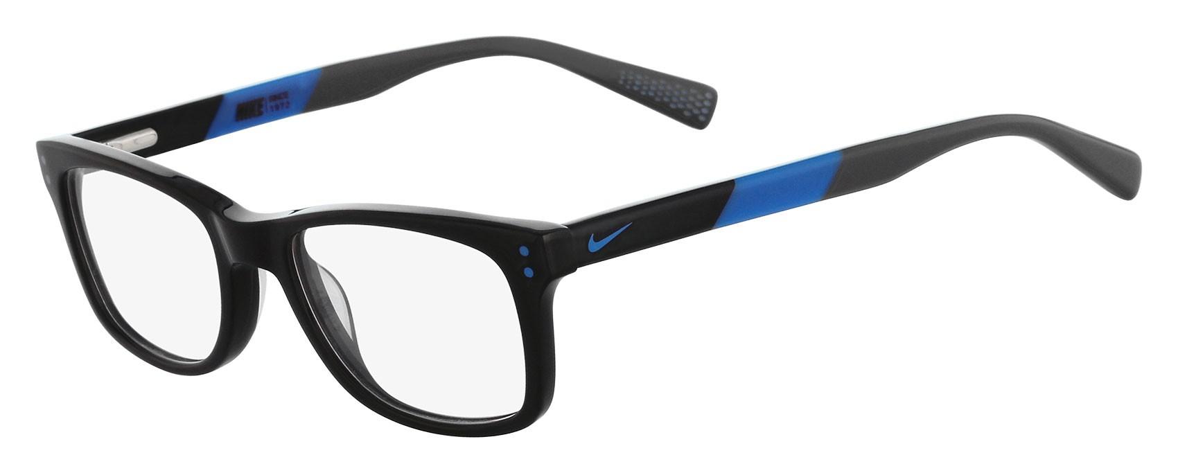 228e814701850 armação oculos de grau masculino nike nk83 black tr90. armação ...