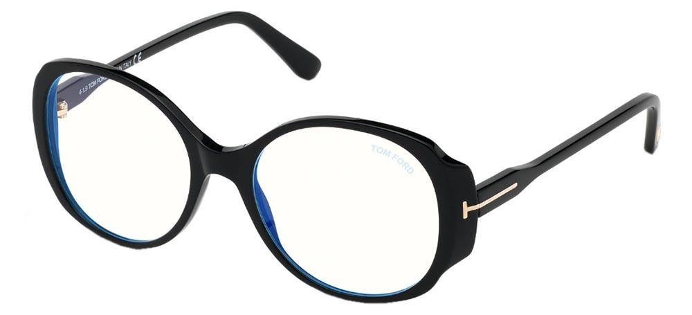 Tom Ford 5620B 001 Blue Block - Oculos de Grau