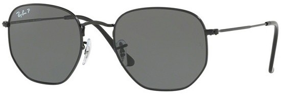 Ray Ban Hexagonal Preto Original