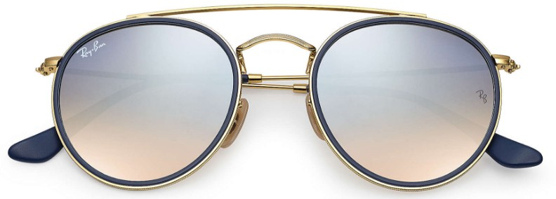 Ray Ban Double Bridge 3647N 001 9U - Óculos de Sol - 6679c1258b