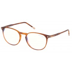 Tom Ford 5608B 053 Blue Block Tam 52 - Oculos de Grau