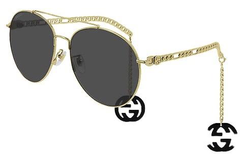 Gucci 0725 001 - Oculos de Sol