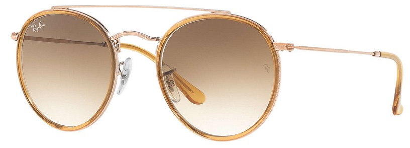 41d2397f3ba12 Ray Ban Double Bridge 3647N 9070 51 - Óculos de Sol