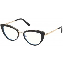 Tom Ford 5580B 001 Blue Block - Oculos de Grau