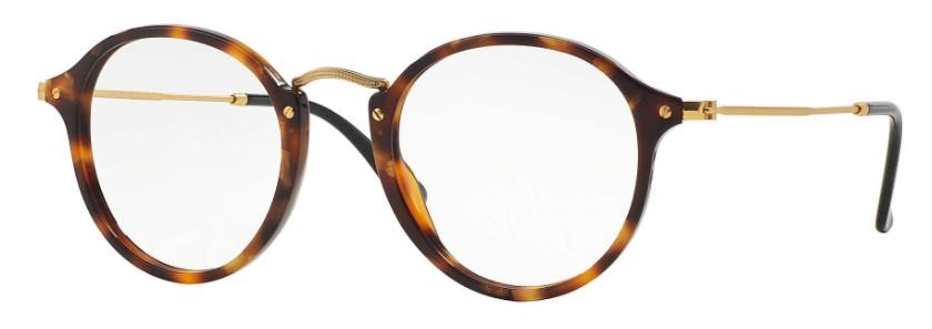 2a91dbd4a Ray Ban Round Fleck 2447V 5494 - Óculos de Grau