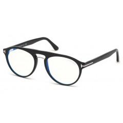 Tom Ford 5587B Blue Block 001 - Oculos de Grau