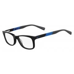 Óculos de grau masculino retangular Nike Preto Azul - Comprar Online
