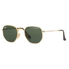 Ray Ban Hexagonal 3548N 001 - Óculos de Sol - Tamanho 51