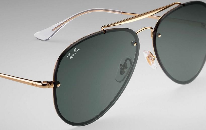 Ray Ban Blaze Aviador 3584N 9050 71 - Óculos de Sol 7b7c44801d