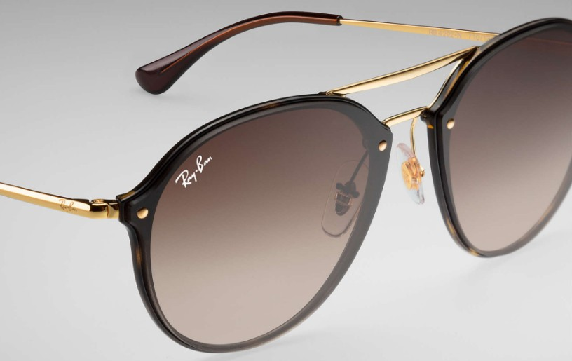 826df4d6ebc77 Ray-Ban Blaze Double Bridge 4292N 710 13 - Óculos de Sol