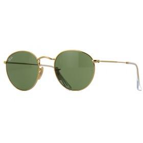 Ray Ban Round 3447 001 - Óculos de Sol - Tamanho 50