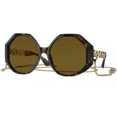 Versace Greca 4395 534673 - Oculos de Sol com Corrente