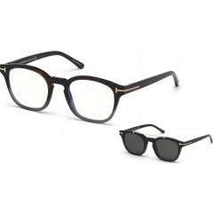 Tom Ford 5532B 55A BLUE LOOK - Óculos e Clip On